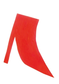 Sans titre - John Deneuve Huile et feutre sur papier 120 x 80 cm
